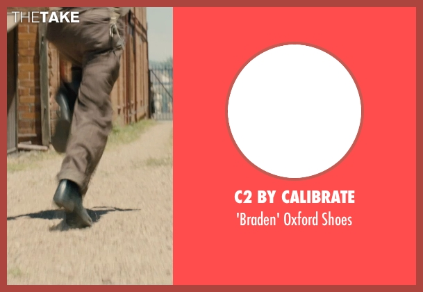 C2 by Calibrate black shoes from Unbroken seen with C.J. Valleroy (Young Louis)