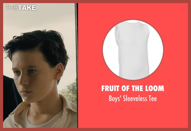Fruit of the Loom tee from Unbroken seen with C.J. Valleroy (Young Louis)
