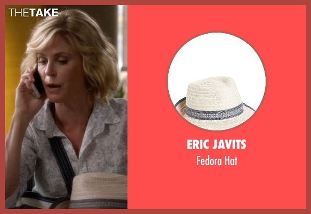 Eric Javits beige hat from Modern Family seen with Claire Dunphy (Julie Bowen)