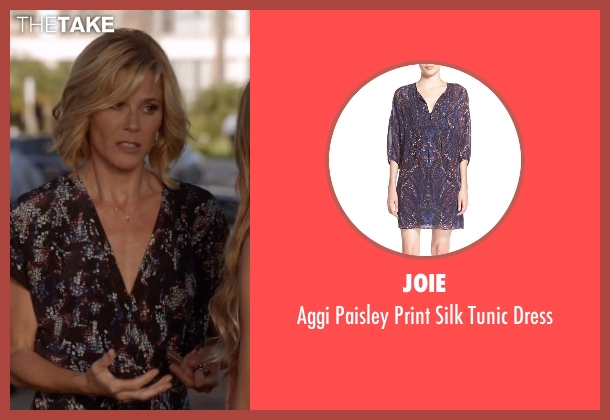 Joie black dress from Modern Family seen with Claire Dunphy (Julie Bowen)