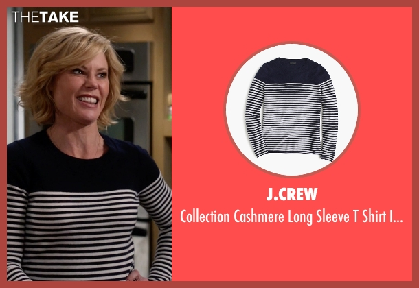 J.Crew blue stripe from Modern Family seen with Claire Dunphy (Julie Bowen)