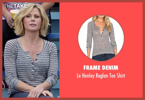 Frame Denim gray shirt from Modern Family seen with Claire Dunphy (Julie Bowen)
