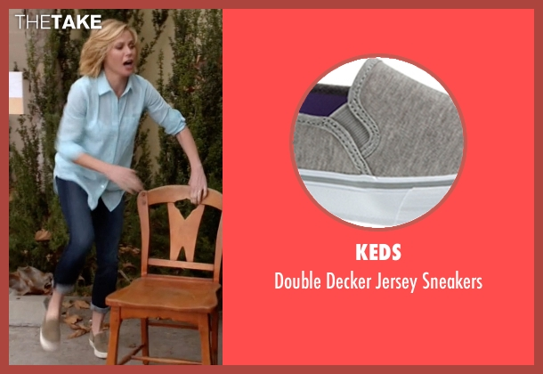 Keds gray sneakers from Modern Family seen with Claire Dunphy (Julie Bowen)