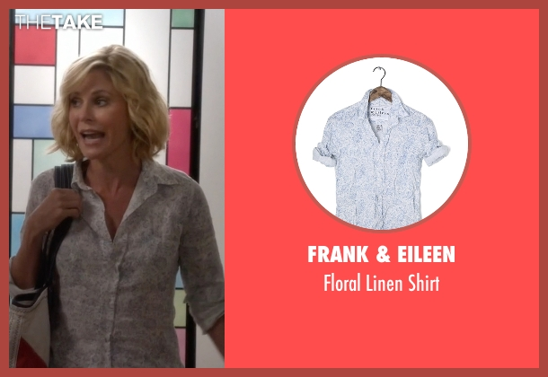 Frank & Eileen white shirt from Modern Family seen with Claire Dunphy (Julie Bowen)
