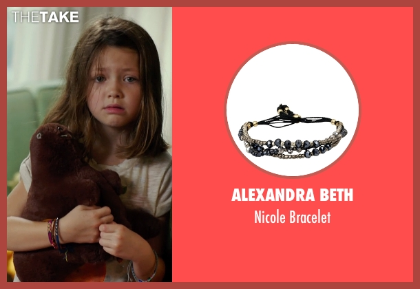 Alexandra Beth bracelet from No Escape seen with Claire Geare (Beeze Dwyer)