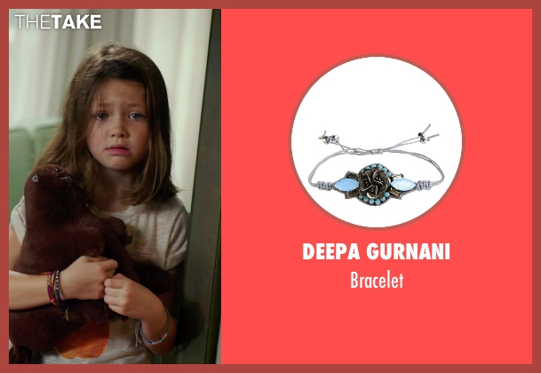 Deepa Gurnani bracelet from No Escape seen with Claire Geare (Beeze Dwyer)
