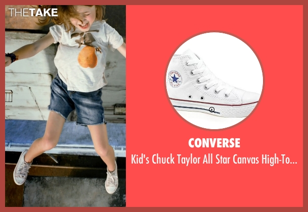 Converse white sneakers from No Escape seen with Claire Geare (Beeze Dwyer)