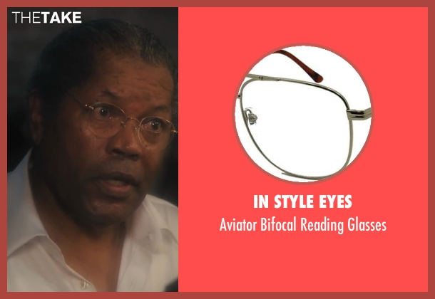 In Style Eyes glasses from Lee Daniels' The Butler seen with Clarence Williams III (Maynard)