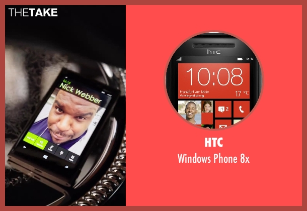HTC 8x from Hot Tub Time Machine 2 seen with Clark Duke (Jacob)