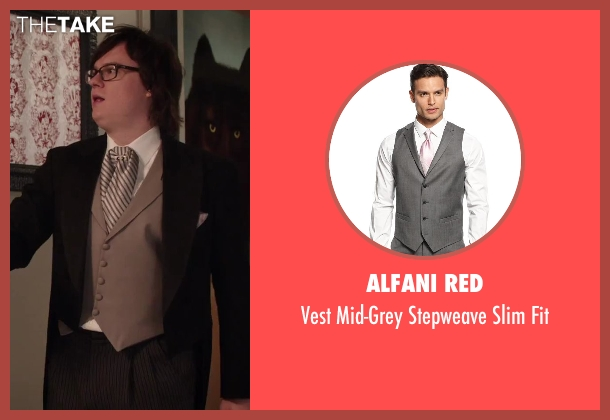 Alfani RED beige fit from Hot Tub Time Machine 2 seen with Clark Duke (Jacob)