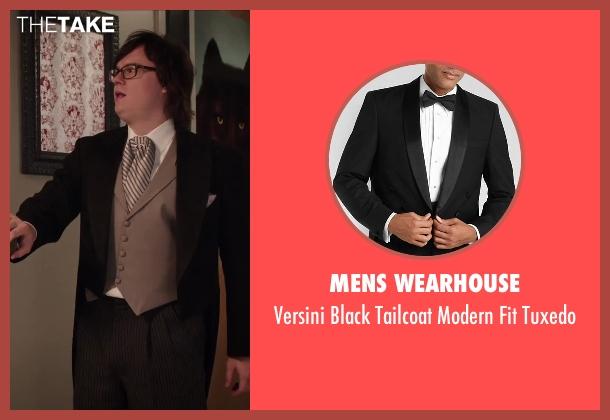 Mens Wearhouse black tuxedo from Hot Tub Time Machine 2 seen with Clark Duke (Jacob)