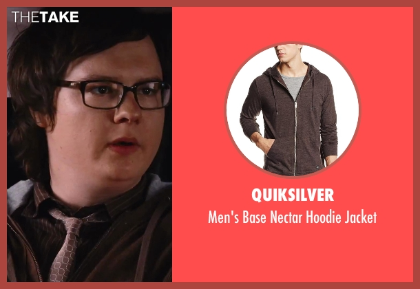 Quiksilver brown jacket from Hot Tub Time Machine 2 seen with Clark Duke (Jacob)