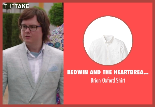 Bedwin and the Heartbreakers white shirt from Hot Tub Time Machine 2 seen with Clark Duke (Jacob)