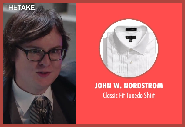 John W. Nordstrom white shirt from Hot Tub Time Machine 2 seen with Clark Duke (Jacob)