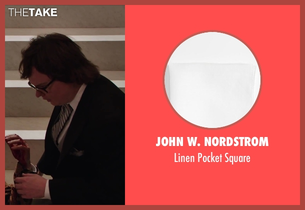 John W. Nordstrom white square from Hot Tub Time Machine 2 seen with Clark Duke (Jacob)