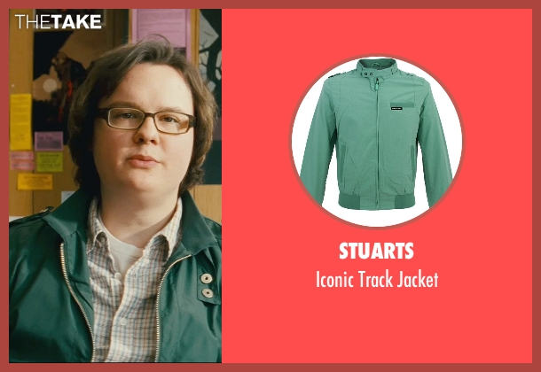 Stuarts green jacket from Kick-Ass seen with Clark Duke (Marty)