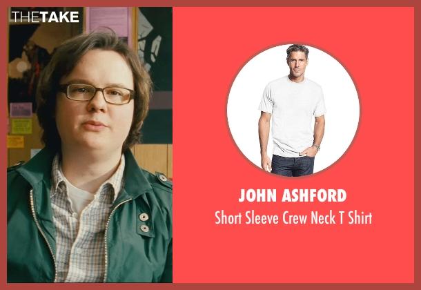 John Ashford white shirt from Kick-Ass seen with Clark Duke (Marty)
