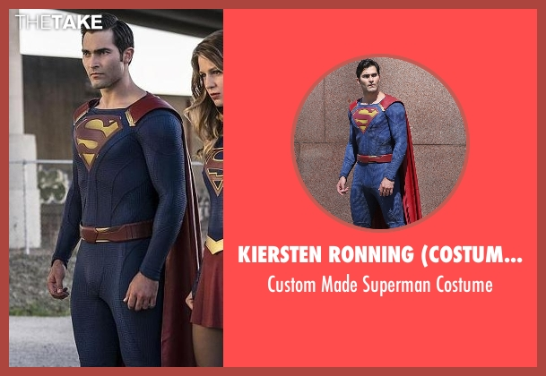 Kiersten Ronning (Costume Designer) costume from Supergirl seen with Clark Kent / Superman (Tyler Hoechlin)