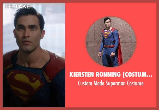 Kiersten Ronning (Costume Designer) costume from Supergirl seen with Clark Kent / Superman (Tyler Hoechlin)