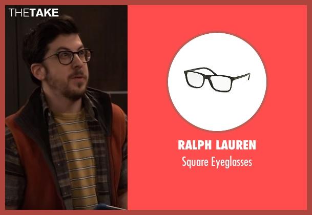 Ralph Lauren black eyeglasses from The Great Indoors seen with Clark (Christopher Mintz-Plasse)