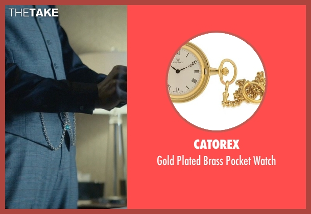 Catorex gold watch from John Wick seen with Clarke Peters (Harry)