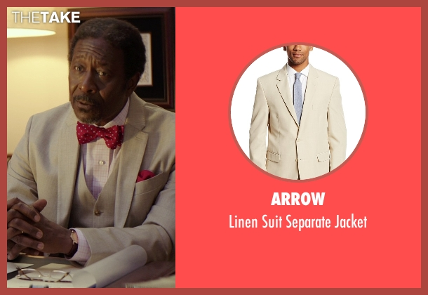 Arrow beige jacket from The Best of Me seen with Clarke Peters (Morgan Dupree)