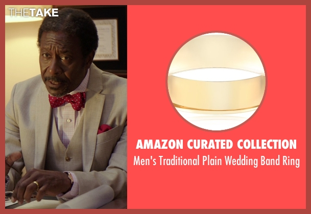 Amazon Curated Collection gold ring from The Best of Me seen with Clarke Peters (Morgan Dupree)