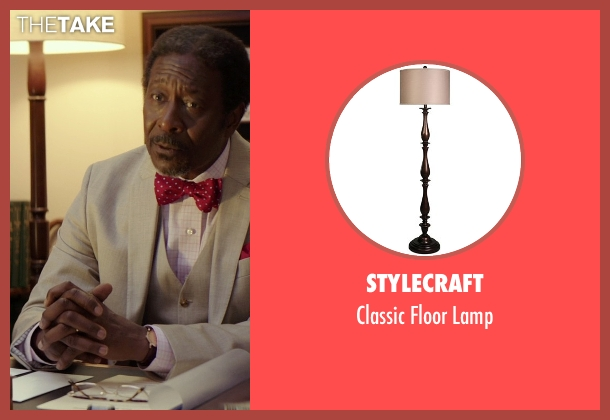 StyleCraft lamp from The Best of Me seen with Clarke Peters (Morgan Dupree)