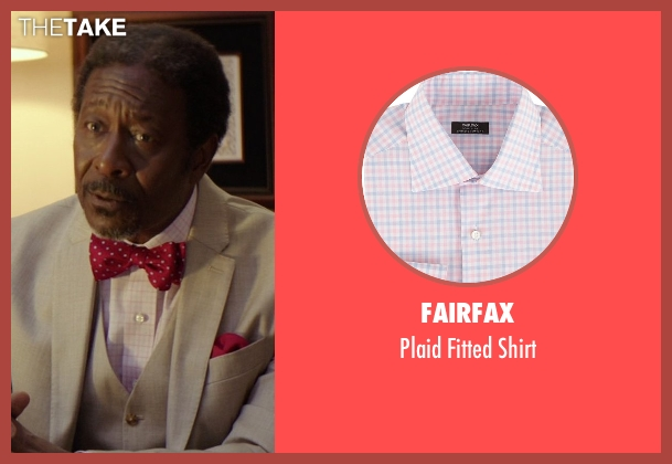 Fairfax pink shirt from The Best of Me seen with Clarke Peters (Morgan Dupree)
