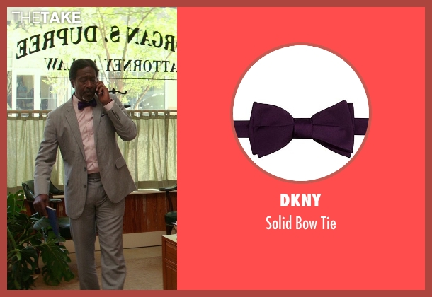 DKNY purple tie from The Best of Me seen with Clarke Peters (Morgan Dupree)