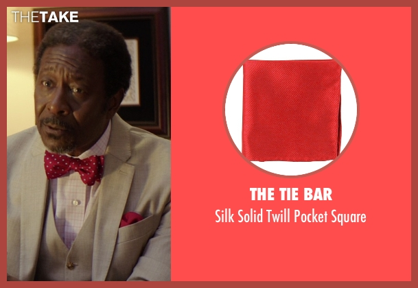 The Tie Bar red square from The Best of Me seen with Clarke Peters (Morgan Dupree)