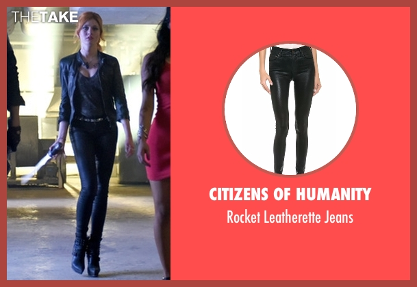Citizens of Humanity black jeans from Shadowhunters seen with Clary Fray (Katherine McNamara)