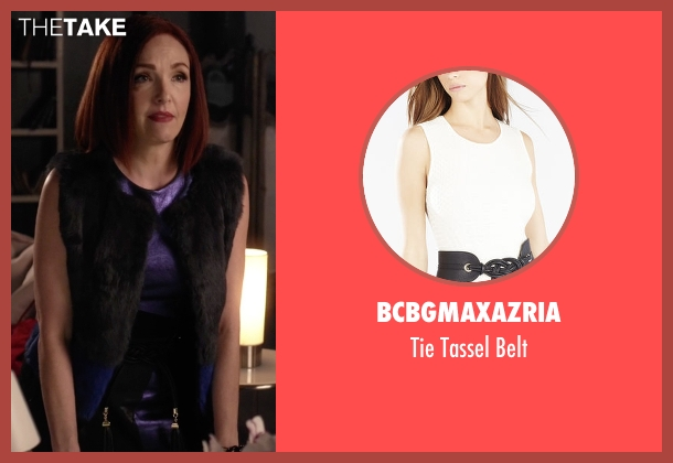 BCBGMAXAZRIA black belt from Pretty Little Liars seen with Claudia (Amy Yasbeck)