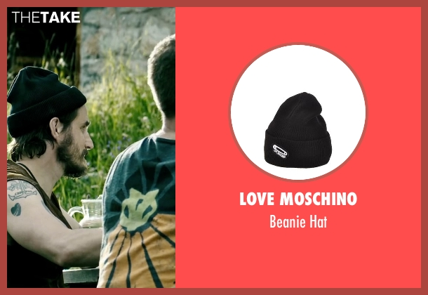 Love Moschino black hat from Point Break seen with Clemens Schick (Roach)