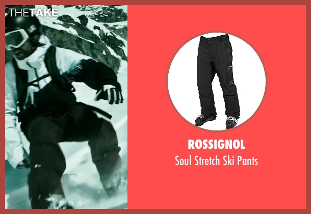 Rossignol black pants from Point Break seen with Clemens Schick (Roach)