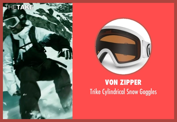 Von Zipper goggles from Point Break seen with Clemens Schick (Roach)