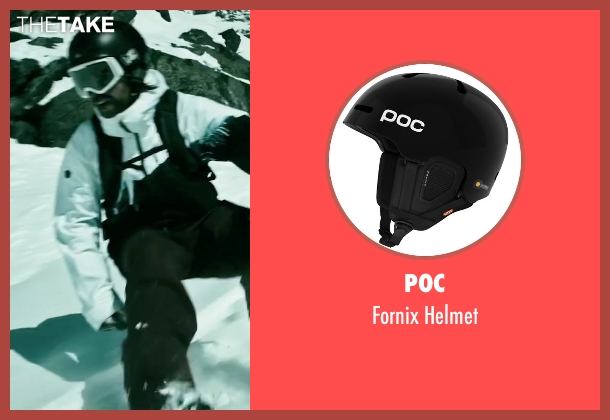 Poc helmet from Point Break seen with Clemens Schick (Roach)