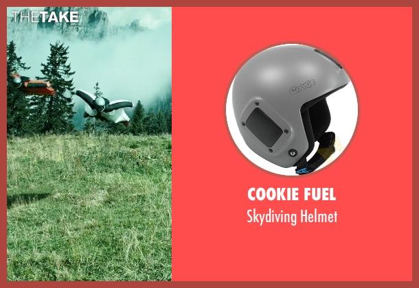 Cookie Fuel helmet from Point Break seen with Clemens Schick (Roach)