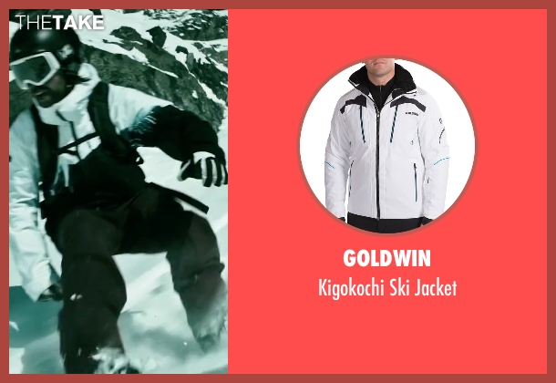 Goldwin white jacket from Point Break seen with Clemens Schick (Roach)
