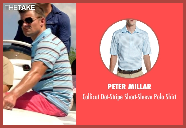 Peter Millar blue shirt from Mad Dogs seen with Cobi (Steve Zahn)
