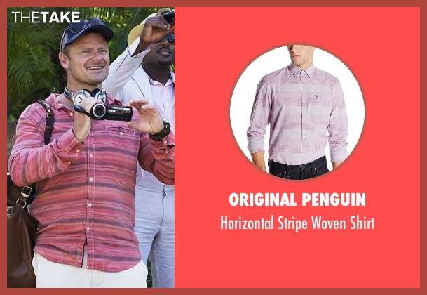 Original Penguin pink shirt from Mad Dogs seen with Cobi (Steve Zahn)