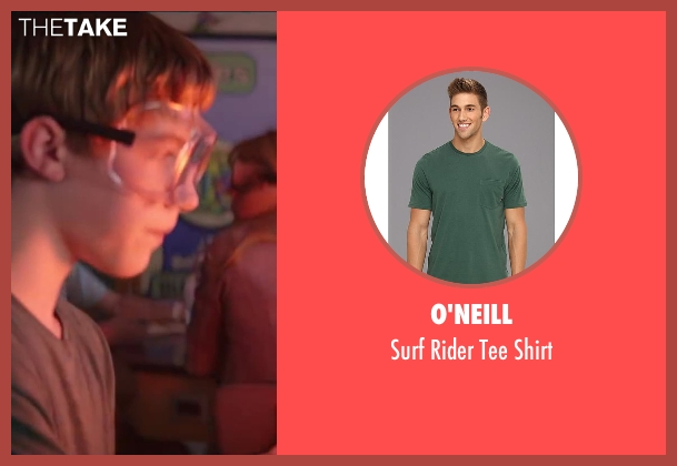 O'Neill green shirt from Wish I Was Here seen with Cody Sullivan (Jesse)