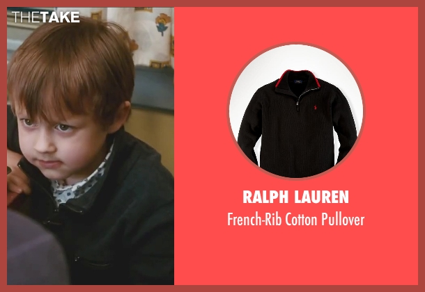 Ralph Lauren black pullover from Little Fockers seen with Colin Baiocchi (Henry Focker)