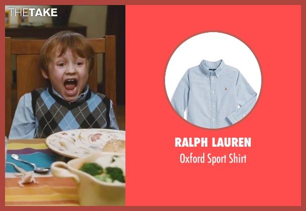 Ralph Lauren blue shirt from Little Fockers seen with Colin Baiocchi (Henry Focker)