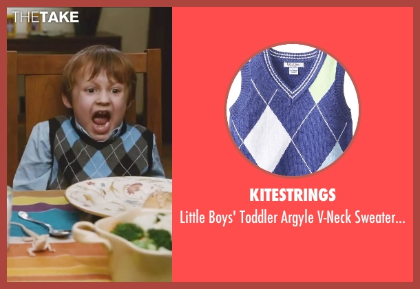 Kitestrings blue vest from Little Fockers seen with Colin Baiocchi (Henry Focker)
