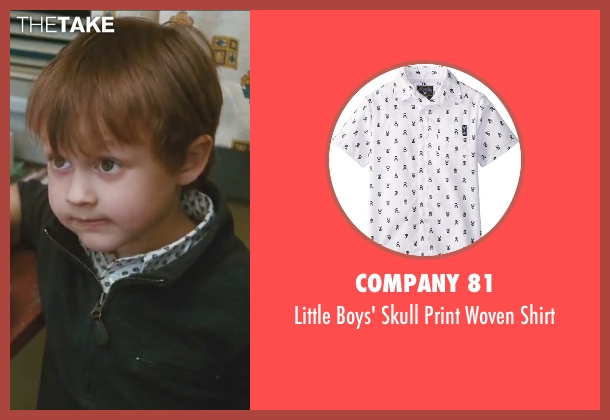 Company 81 white shirt from Little Fockers seen with Colin Baiocchi (Henry Focker)