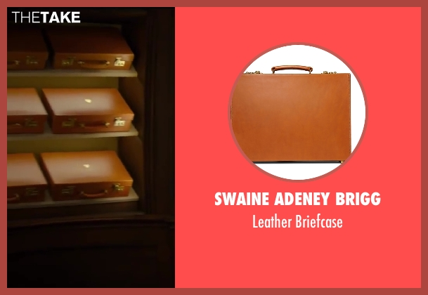 Swaine Adeney Brigg briefcase from Kingsman: The Secret Service seen with Colin Firth (Harry Hart)