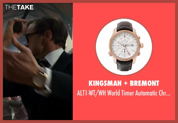 Bremont brown watch from Kingsman: The Secret Service seen with Colin Firth (Harry Hart)