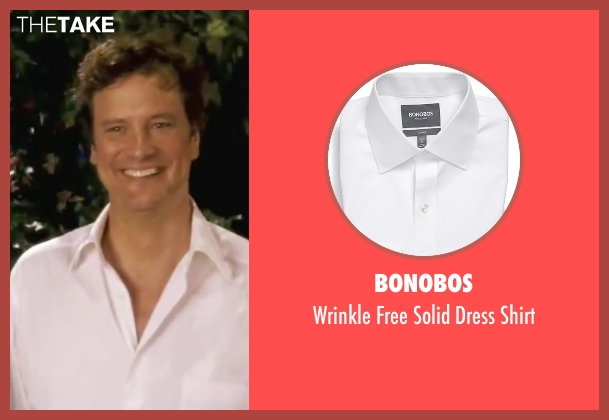 Bonobos white shirt from Mamma Mia! seen with Colin Firth (Harry)