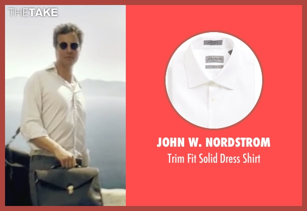 John W. Nordstrom white shirt from Mamma Mia! seen with Colin Firth (Harry)